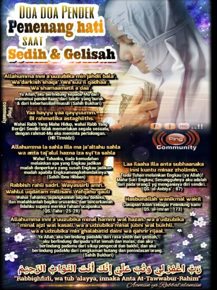 Doa Doa Penenang Hati Blog Peribadirasulullah